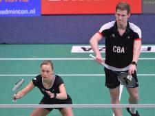 Badmintonners naar halve finale tegen Denen