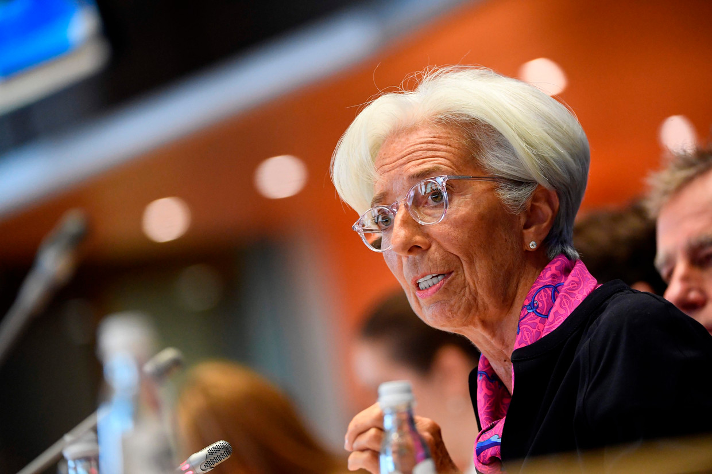 Christine Lagarde vat op 1 november een mandaat van acht jaar aan.