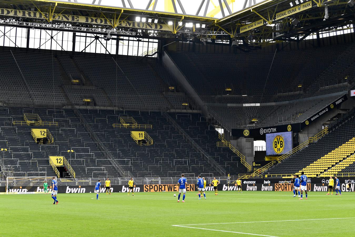 Bundesliga-clubs liepen heel wat inkomsten mis door lege stadions.