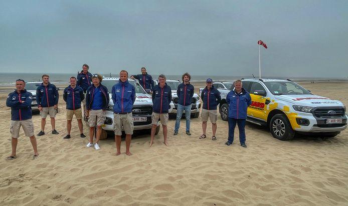 De hoofdredders van de tien kustgemeenten zijn er klaar voor om aan het nieuwe badseizoen te beginnen, samen met 1.400 andere redders.
