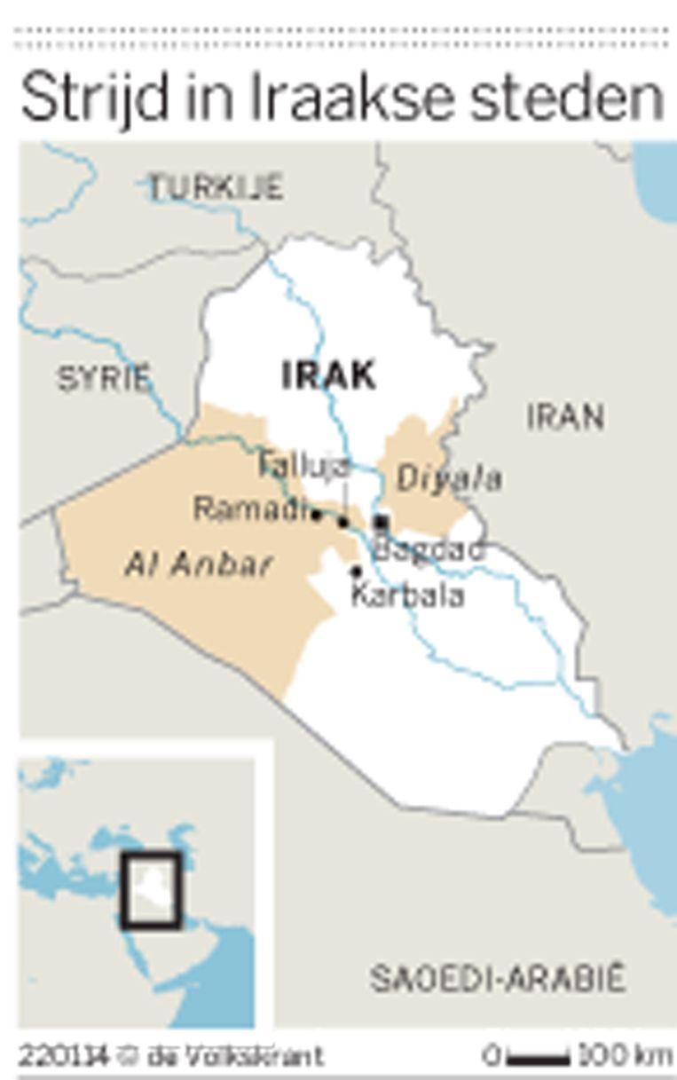 Strijd in Iraakse steden. Beeld -