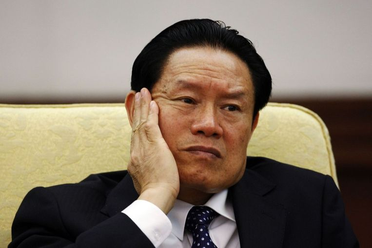 Oud-minister Zhou Yongkang Beeld reuters