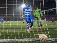 Verdediger Lam mist eerste duel na ontslag Van 't Schip door rode kaart