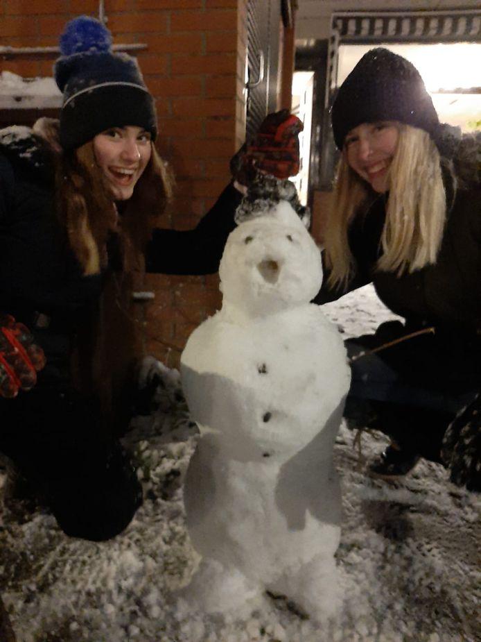 Sneeuwpop in Leidsche Rijn