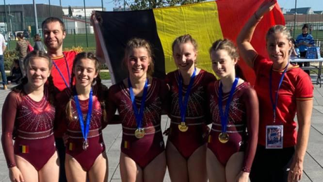 """Aalsterse tumblers scoren medailles in Frankrijk: """"Goeie voorbereiding voor WK"""""""