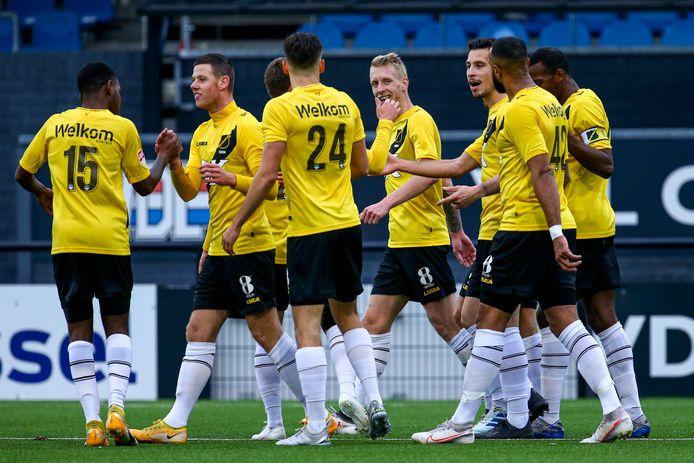 NAC Breda wint op bezoek bij FC Eindhoven.