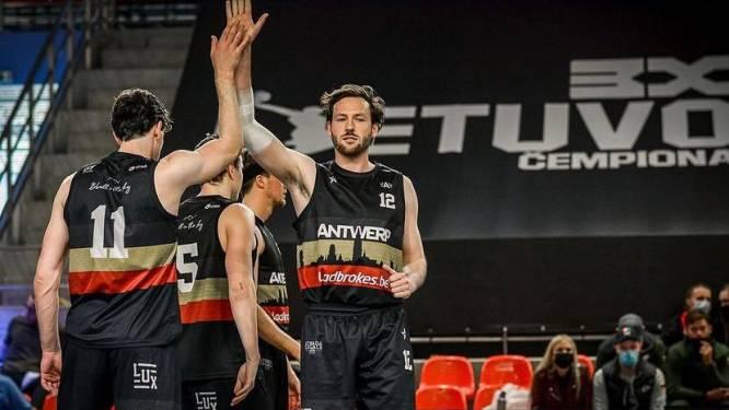 Onbetaalde atleten leven en trainen als profs: Team Antwerp 3x3 maakt indruk in Litouwen