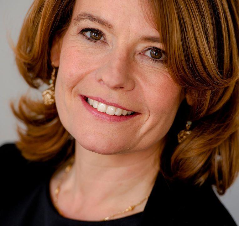 Voorzitter Merel van Vroonhoven van AFM Beeld anp