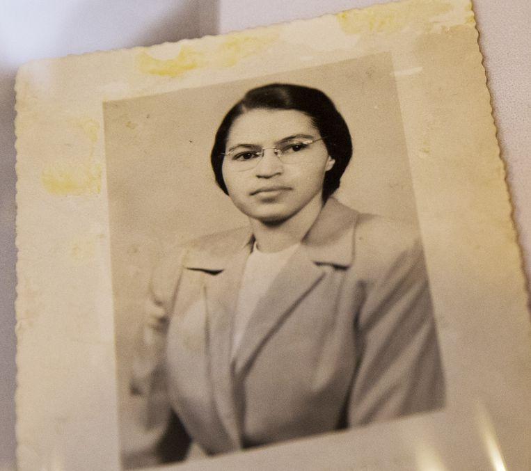 Rosa Parks rond het jaar 1950. Beeld AP