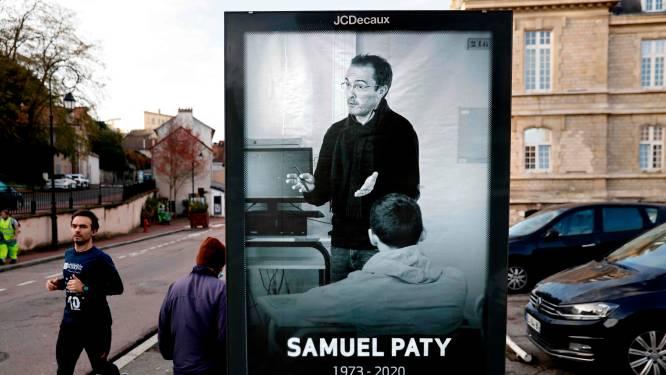 Franse scholen herdenken massaal onthoofde leraar Samuel Paty