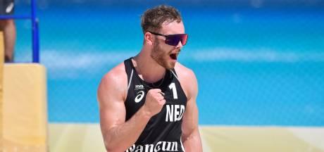 Beachvolleyballer Ruben Penninga wint voor een ander en mag zelf niet naar de Olympische Spelen