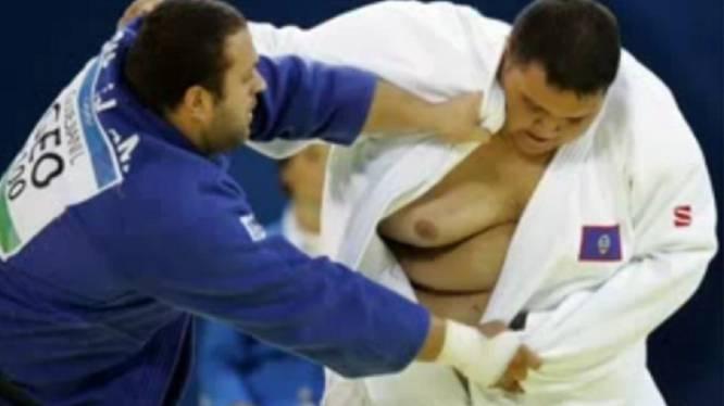 Judoka uit Guam met 218 kg dikste atleet op Spelen