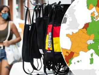Heel België kleurt opnieuw oranje op de Europese coronakaart, net als Frankrijk
