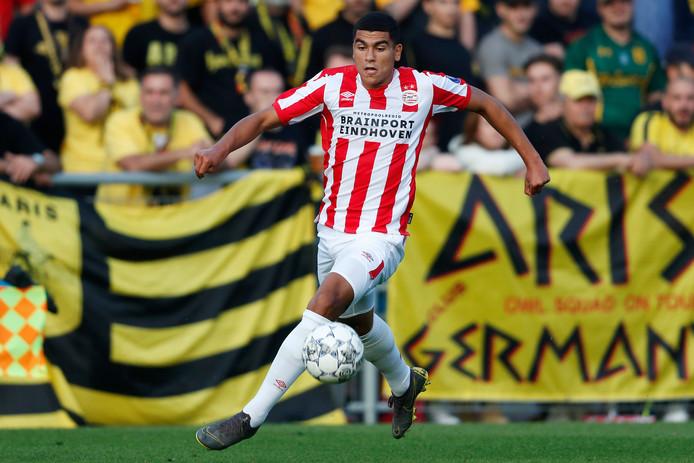 Zakaria Aboukhlal, een van de grote talenten van PSV.