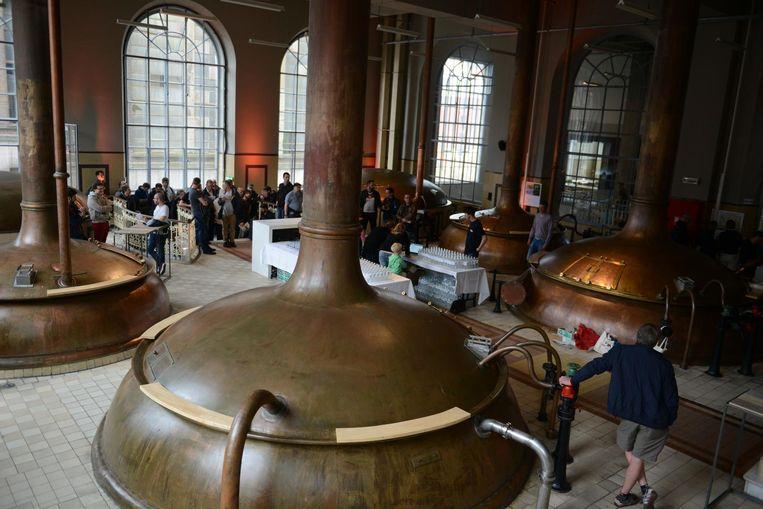 Den Hoorn, aan de Vaartkom in Leuven, is te bezichtigen tijdens Open Monumentendag. Beeld Foto Vertommen