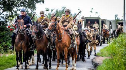 150 figuranten, 50 paarden en 20 voertuigen zeven dagen onderweg om bevrijdingsoffensief WO I te herdenken