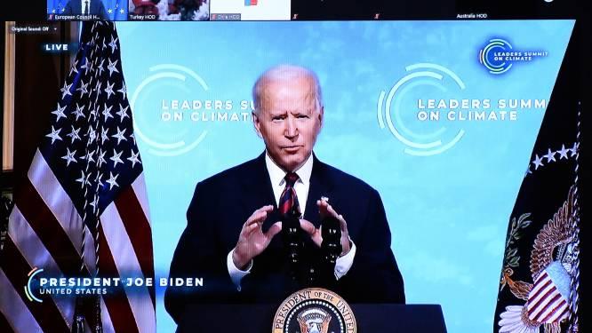 Biden verdubbelt ambities voor het klimaat, maar krijgt andere grote vervuilers nog niet mee
