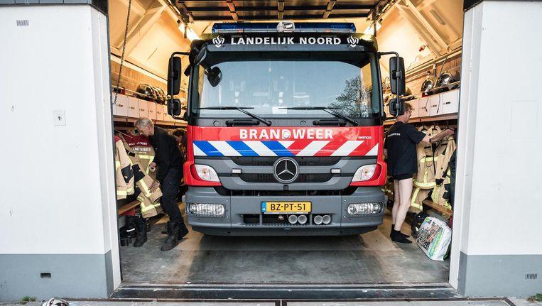 Nu moeten brandweerwagens vanuit de kazernes bij de Haarlemmerweg of de Ookmeerweg komen. Beeld Mats van Soolingen