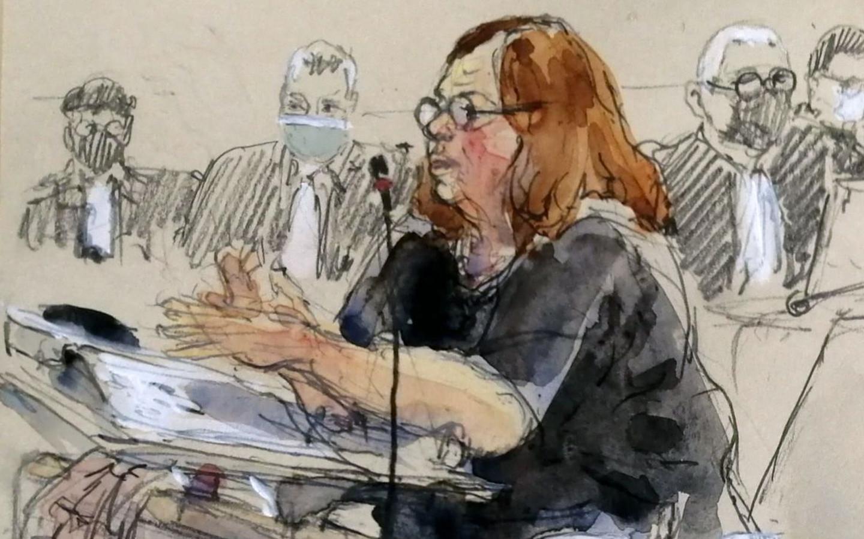 La juge d'instruction Isabelle Panou au procès des attentats du 13-Novembre.