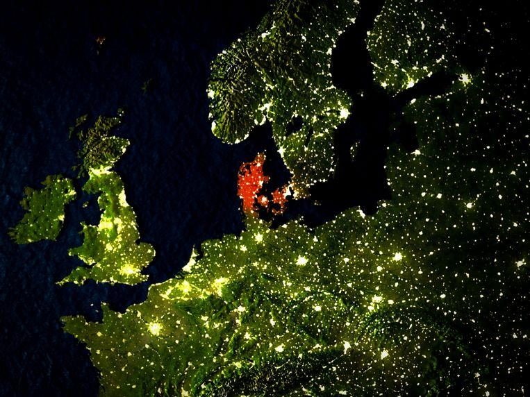 Denemarken werkte samen met de Amerikanen bij het aftapproject. Beeld Getty Images/iStockphoto