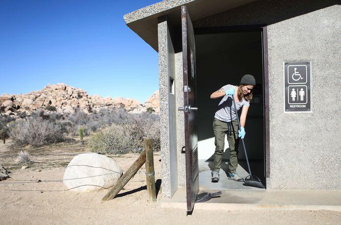 Dankzij vrijwilligers kon het park toch nog een tijdje geopend blijven.