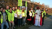 """Buurtcomité Wakker Moerbeke ijvert voor leefbare Dorpvaart: """"Verkeer raast door onze straat"""""""