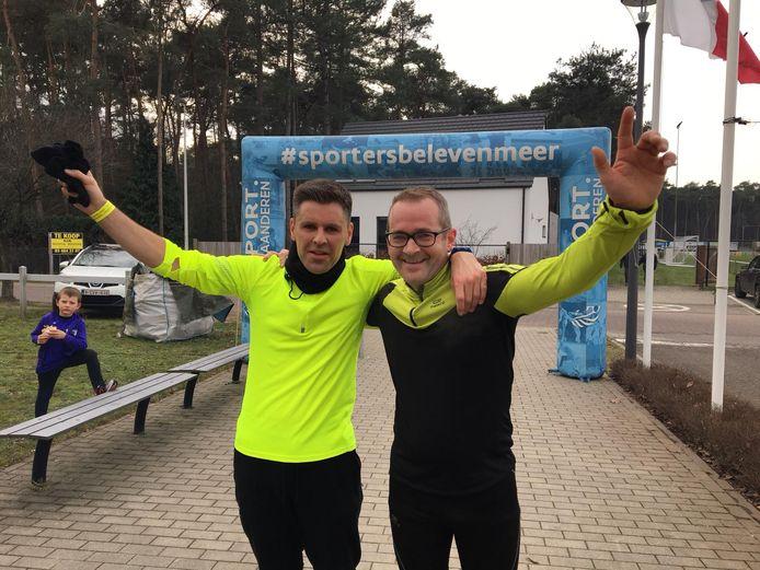 Warmste sportweek in Zandhoven