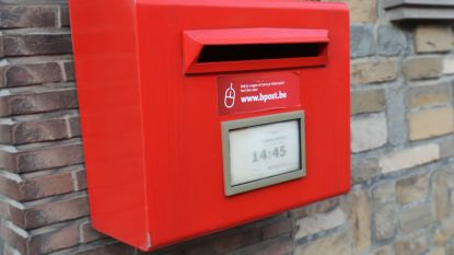 BPost schrapt 7 rode brievenbussen