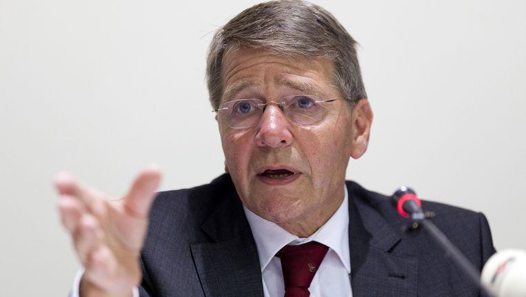 Piet Hein Donner, minister van Binnenlandse Zaken en favoriet voor de functie van vicevoorzitter van de Raad van State. Beeld ANP