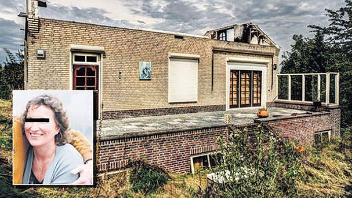Het huis waar Ada S.(inzet) woonde met echtgenoot Ruud Konijn.
