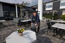 Dennis Goossens is klaar voor heropening van zijn terrassen.