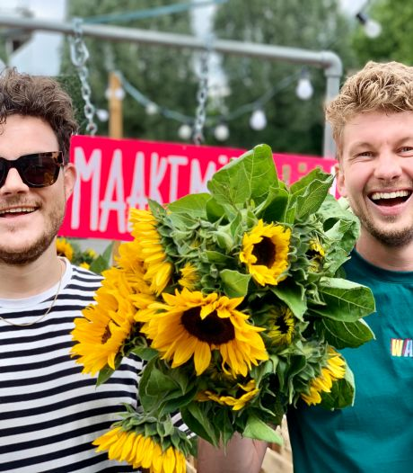 Bredanaars redden Vierdaagse-gladiolen van de shredder