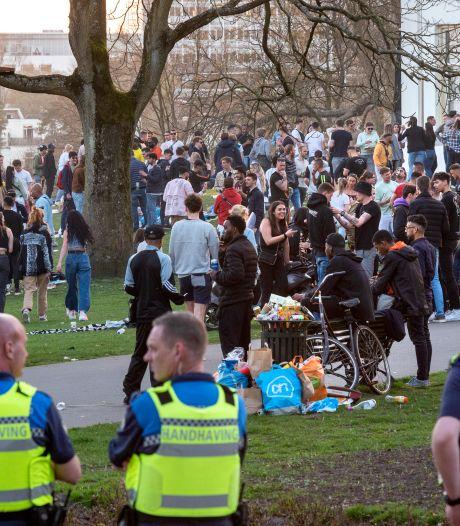 Arnhem gaat harder optreden na coronafeest in Sonsbeek: 'Dit was heel erg onverantwoord'