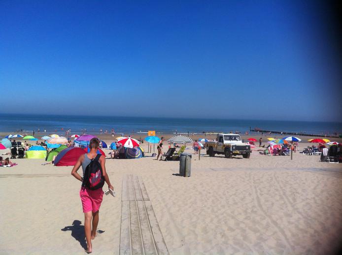 Strand Domburg, 12.20 uur