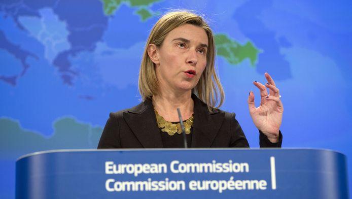 Le chef de la diplomatie européenne Federica Mogherini