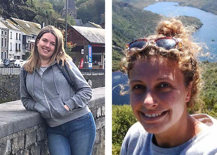 Kim (rechts) en Julie (links) kozen er vorig jaar allebei voor om al hun sociale media te verwijderen.