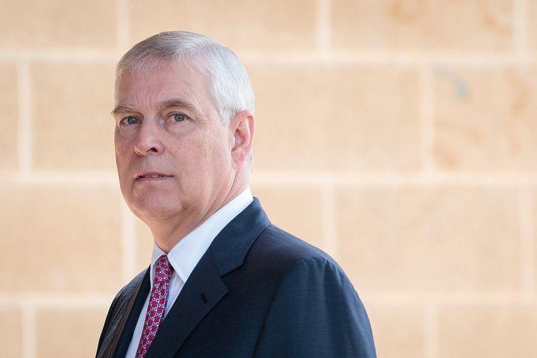 Prins Andrew wordt ervan beschuldigd dat hij meermaals seks met een meisje had toen ze 17 jaar was. Beeld EPA
