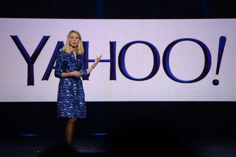 Marissa Mayer, CEO van Yahoo. Beeld anp