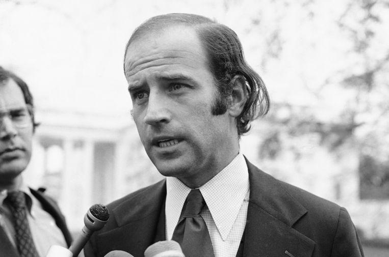 Joe Biden in 1972, net nadat hij senator werd. Beeld AP