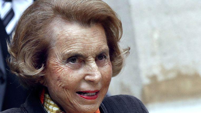 Liliane Bettencourt Beeld ANP