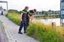 Politie doet onderzoek bij de Burgemeester Waverijnweg.