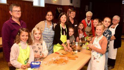 Werelds koken met kinderen