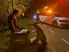 In één klap zeven boetes voor twee roekeloze motorrijders die op de vlucht slaan