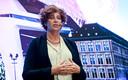 Minister van Overheidsbedrijven Petra De Sutter (Groen)