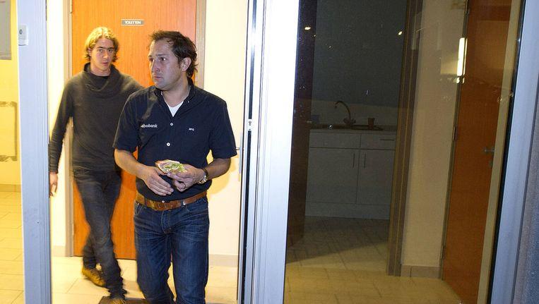 Blijlevens als ploegleider van de voormalige Rabobankploeg. Beeld anp