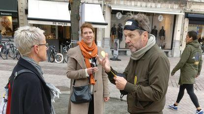 'Blind date' met Lucas Van den Eynde op Grote Markt in Lier
