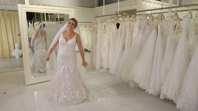 Fianne Put uit Deventer was dinsdagavond te zien in TLC-programma Say Yes to the Dress.