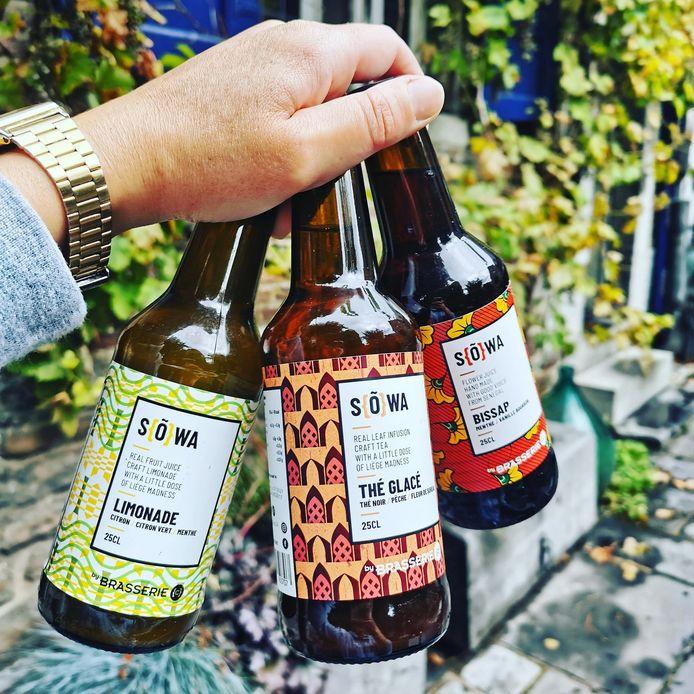 Sowa, la gamme de sodas de la Brasseri {C}