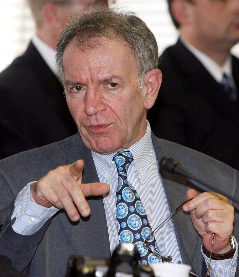Daniel Féret, voorman van het Waalse Front National in 2006. © AFP Beeld