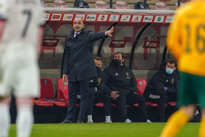 Roberto Martinez est satisfait de la réaction de ses joueurs après le 0-1, mais se tourne déjà vers le déplacement de samedi en République Tchèqe.